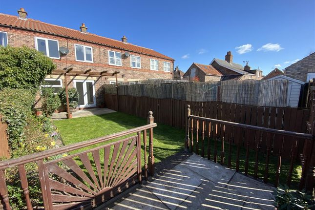 2 bed terraced house for sale in Kelfield Road, Riccall, York YO19