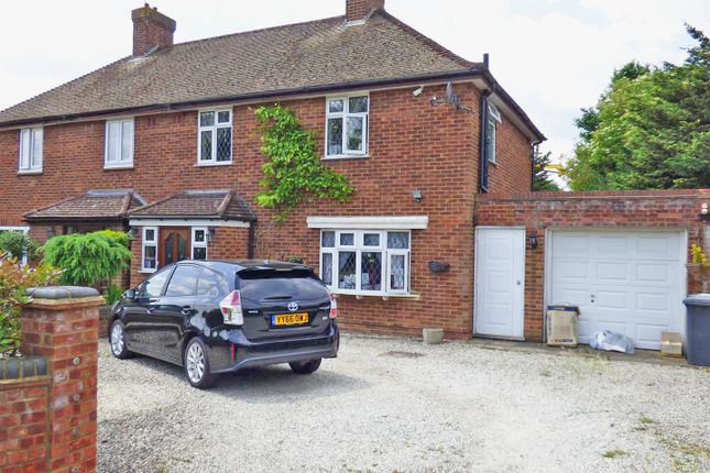 Thumbnail Semi-detached house to rent in Cowley Hill, Borehamwood