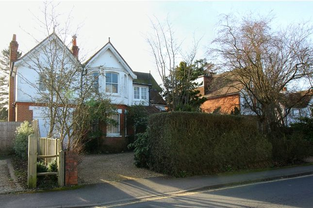Thumbnail Detached house for sale in Alfred Road, Farnham, Surrey