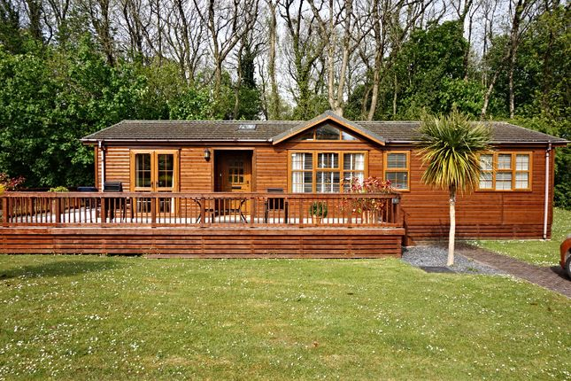Thumbnail Lodge for sale in St Minver Holiday Park, Near Rock