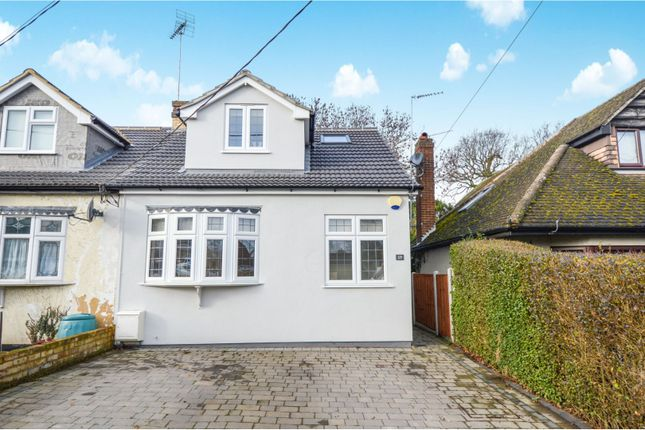Thumbnail Semi-detached house for sale in Cedar Road, Brentwood