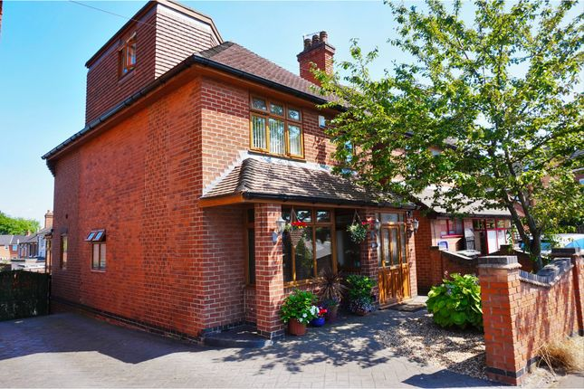 Thumbnail Detached house for sale in Smisby Road, Ashby-De-La-Zouch