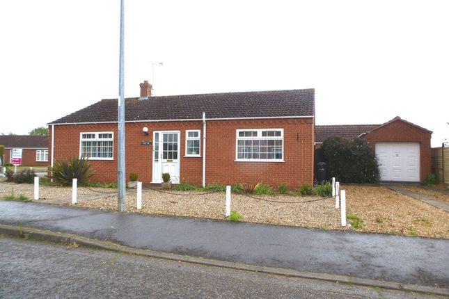 Thumbnail Detached bungalow for sale in Mountbatten Road, Dersingham, King's Lynn