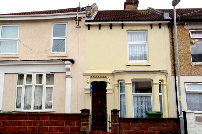 Thumbnail Terraced house to rent in Ernest Road, Portsmouth, Hampshire