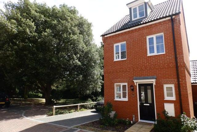 3 bed link-detached house for sale in Malkin Close, Ipswich