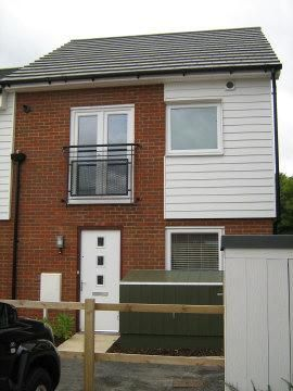 Thumbnail End terrace house to rent in Merlin Way, Ashford