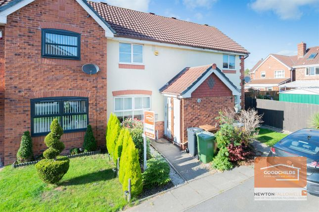 2 bed terraced house for sale in Allerdale Road, Clayhanger, Walsall WS8