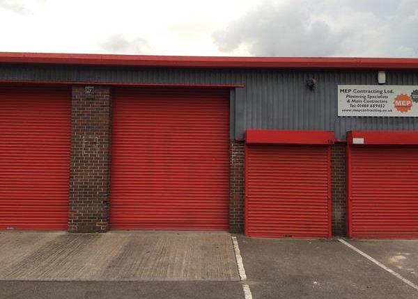 Light industrial to let in Units 16 Brockholes Business Park, Rock Mill Road, Huddersfield, West Yorkshire