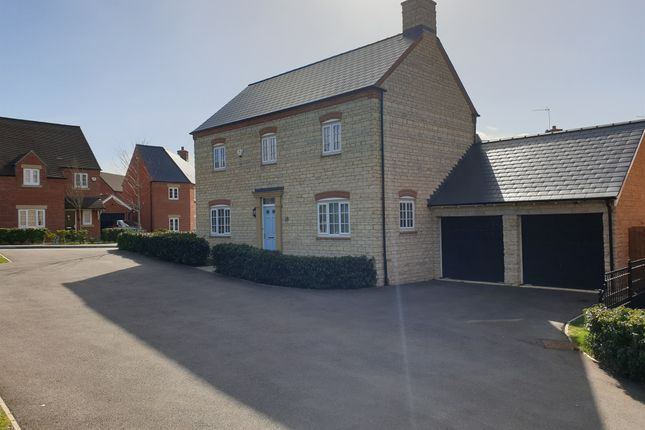 Thumbnail Detached house for sale in Poppyfield Road, Wootton, Northampton