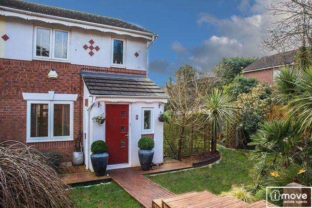 Thumbnail End terrace house for sale in Montesson Close, Paignton