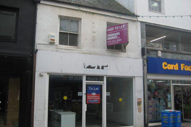 Thumbnail Retail premises to let in 242 High Street, Bangor
