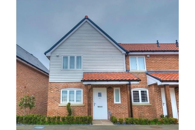 Thumbnail End terrace house for sale in Waterside Drive, Ditchingham, Bungay