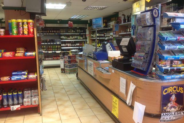 Thumbnail Retail premises for sale in Llanfairpwll, Gwynedd