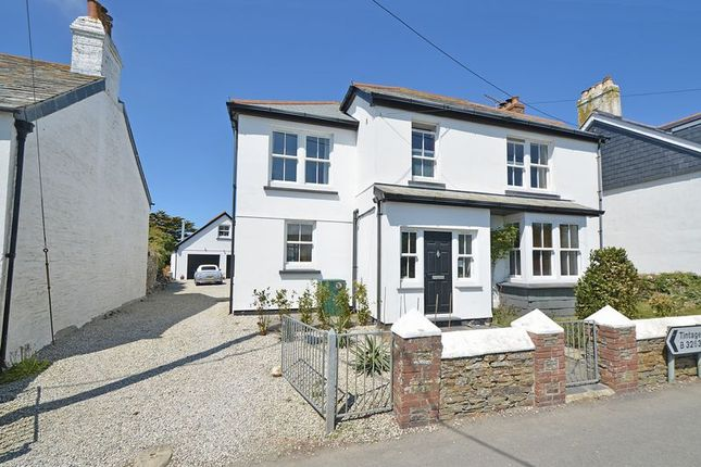 Thumbnail Detached house for sale in Bossiney, Tintagel