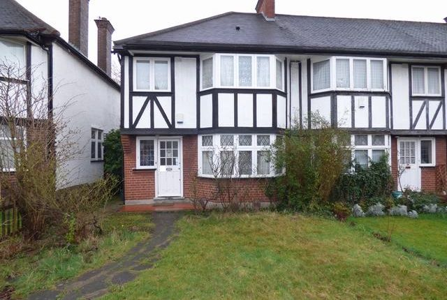 Thumbnail End terrace house to rent in Princes Gardens, West Acton