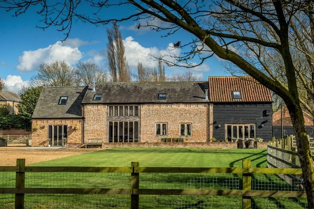 Thumbnail Barn conversion for sale in Upwell Road, Christchurch, Wisbech