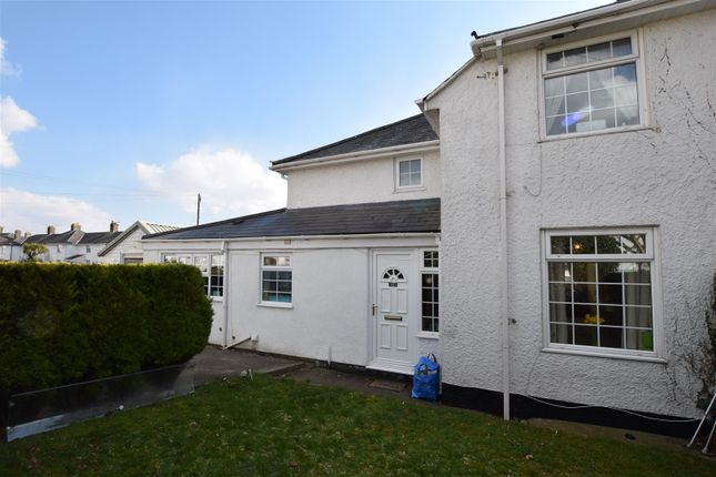 Thumbnail Semi-detached house for sale in Bron Awelon, Barry