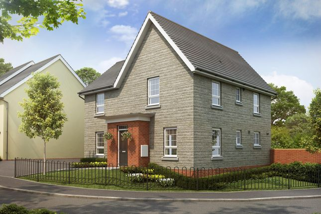 "Thumbnail Detached house for sale in ""Lincoln"" at Tiverton Road, Cullompton"
