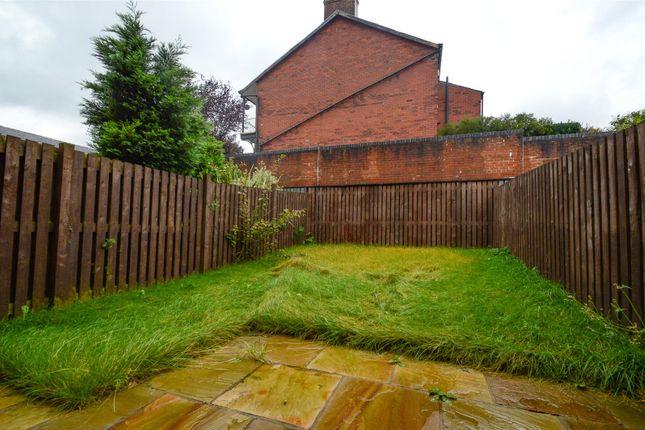 Rear Garden of Mill Gardens, Great Harwood, Blackburn, Lancashire BB6