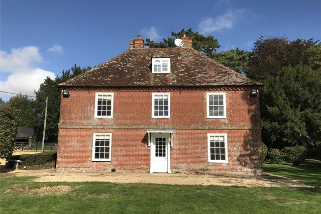 Thumbnail Detached house to rent in Damerham, Fordingbridge, Hampshire