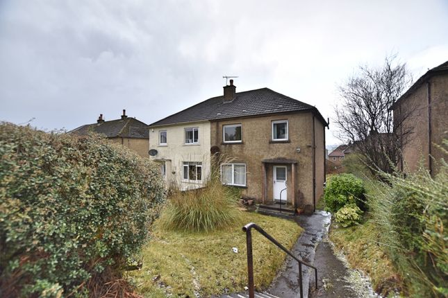 Thumbnail Semi-detached house for sale in Kirn Drive, Gourock
