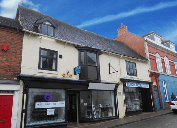 Thumbnail Retail premises for sale in 14-16 Stafford Street, Market Drayton, Shropshire