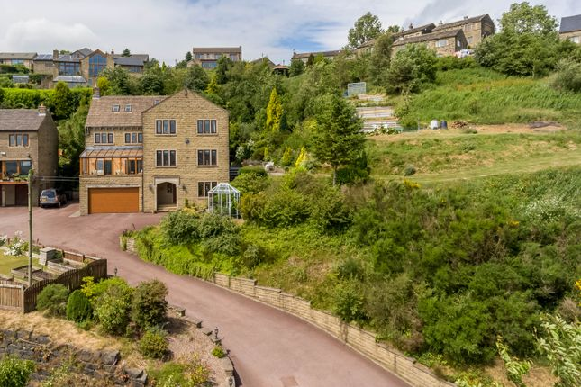 Thumbnail Detached house for sale in Taylor Lane, Scapegoat Hill, Huddersfield