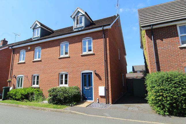 4 bed semi-detached house for sale in Regency Mews, Milton Keynes MK17