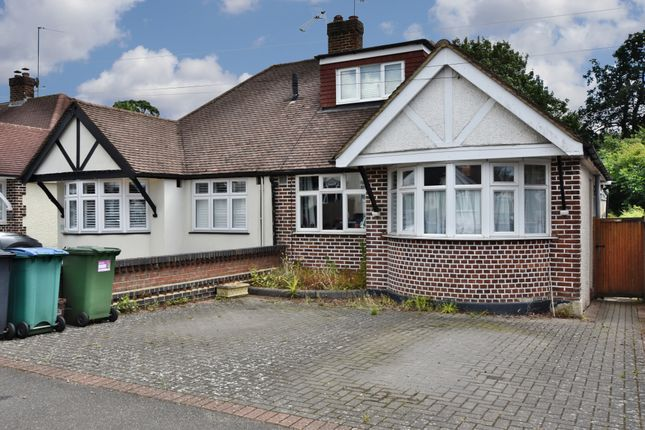 Thumbnail Semi-detached bungalow for sale in Woodmere Avenue, Watford
