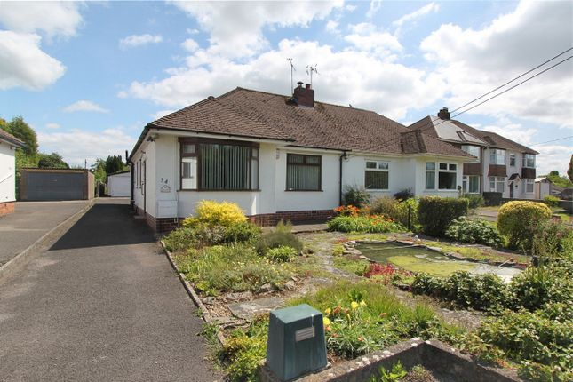 Thumbnail Semi-detached bungalow for sale in Gloucester Road, Rudgeway, Bristol