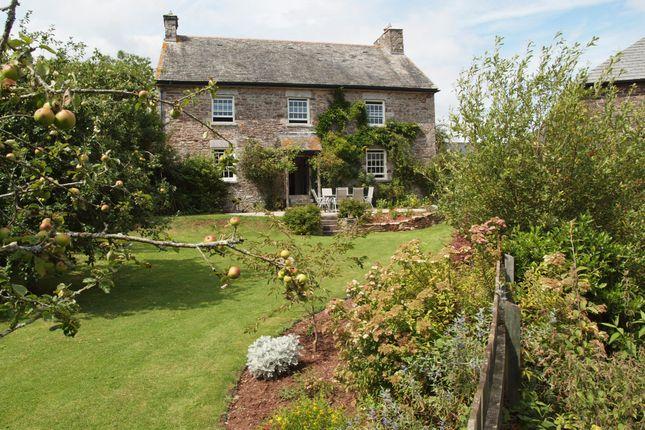 Thumbnail Farmhouse for sale in Collaton Cross, Newton Ferrers, Devon