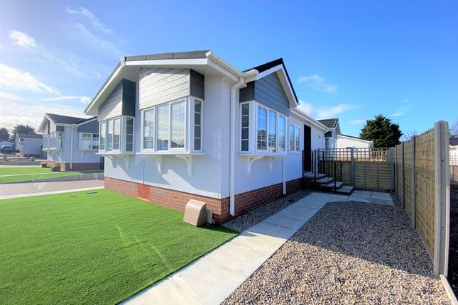 Thumbnail Detached bungalow for sale in Hazelgrove Residential Park, Milton Street, Saltburn-By-The-Sea