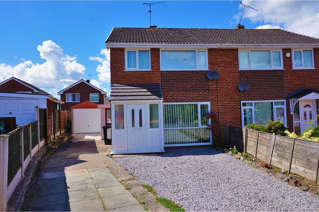 Thumbnail Semi-detached house for sale in Hafod Close, Deeside