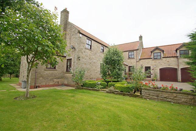 Thumbnail Detached house for sale in Bradbury, Stockton-On-Tees