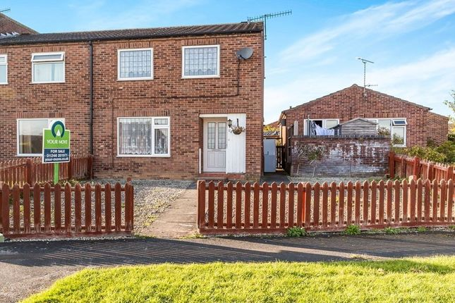Thumbnail Semi-detached house for sale in Holme Hall Crescent, Chesterfield