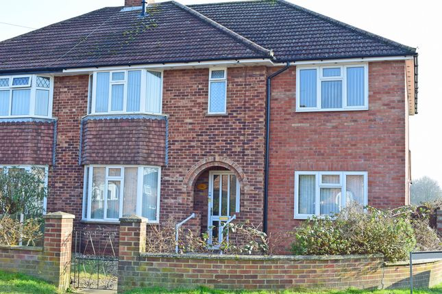 Thumbnail Semi-detached house to rent in Breckland Road, Norwich