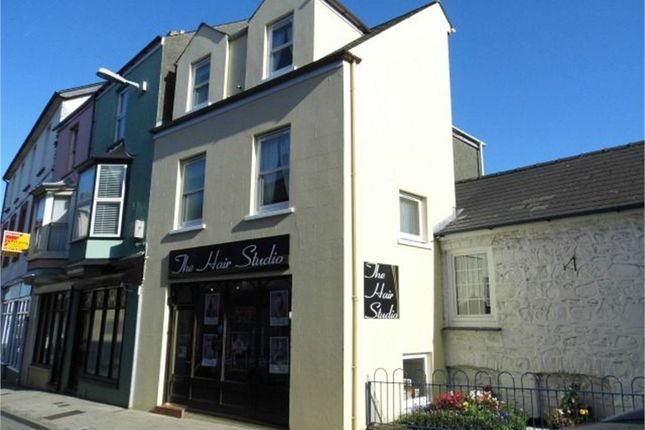 Thumbnail Town house for sale in 4 West Street (The Hair Studio), Fishguard, Pembrokeshire