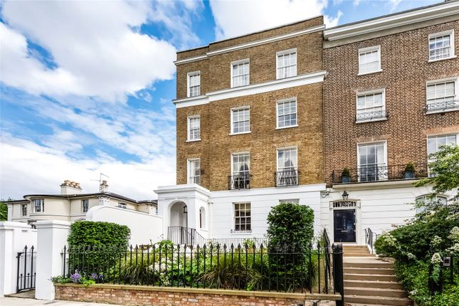 Thumbnail End terrace house for sale in Campden Hill Square, London