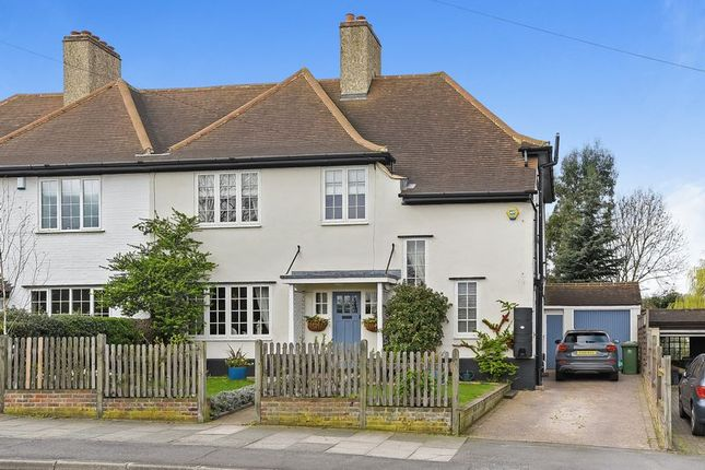 Thumbnail Semi-detached house for sale in Manor Road, Crayford, Dartford