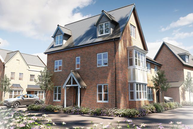 """Thumbnail Semi-detached house for sale in """"The Dunster"""" at Oak Tree Road, Hugglescote, Coalville"""