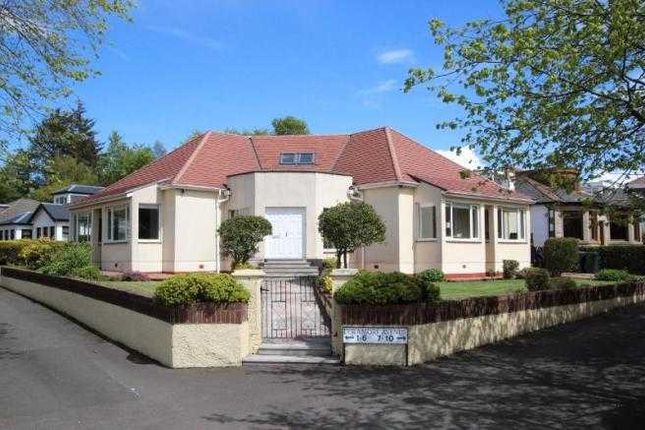 Thumbnail Detached house to rent in Deramore Avenue, Whitecraigs, Glasgow