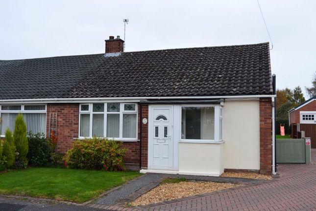 Thumbnail Bungalow to rent in Northfields Place, Shavington, Crewe