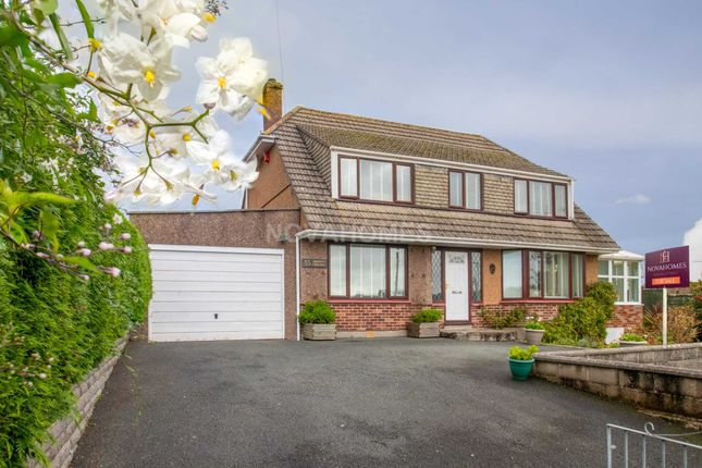Thumbnail 4 bed detached house for sale in Sherford Crescent, Elburton