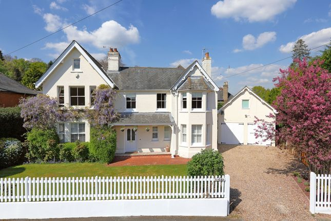 Thumbnail Detached house to rent in Church Road, Sunningdale, Ascot