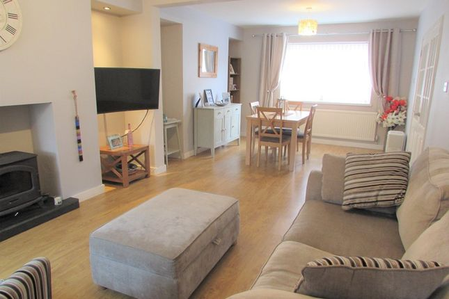Thumbnail End terrace house for sale in Heol-Y-Geifr, Pencoed, Bridgend .