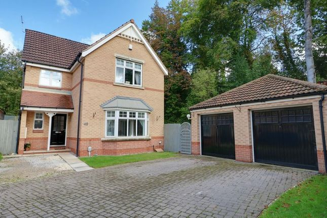 Thumbnail Detached house for sale in St. Marys Close, Hessle