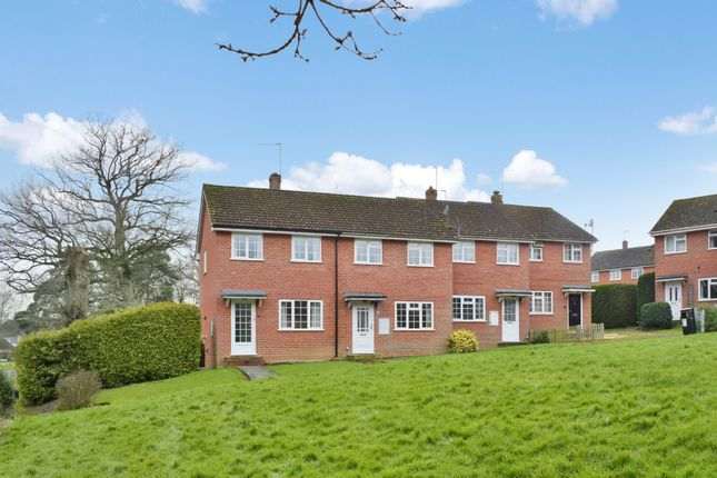 Thumbnail Terraced house for sale in Harwood Rise, Woolton Hill, Newbury