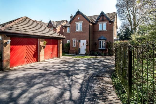 Thumbnail Detached house for sale in Chichester Close, Sale, Trafford, Greater Manchester