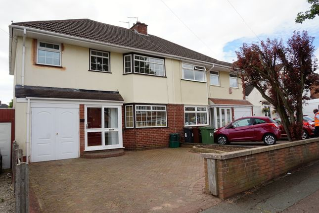 Thumbnail Semi-detached house for sale in Blakeley Avenue, Wolverhampton