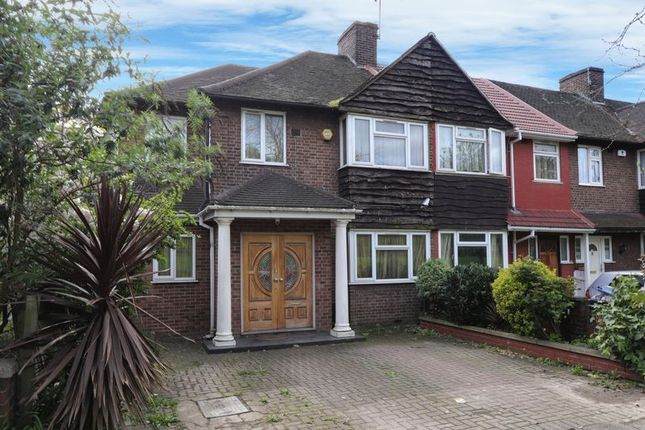 Thumbnail End terrace house for sale in Mandeville Road, Northolt